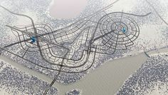 cities skylines efficient road layout - Google Search