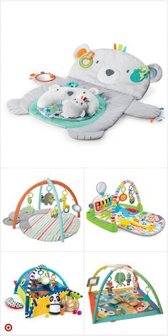 Excellent simple ideas for your inspiration Baby Gym, Baby Play, Baby Shower Gifts, Baby Gifts, Baby Activity Gym, Baby Necessities, Baby Must Haves, Baby Supplies, Tummy Time