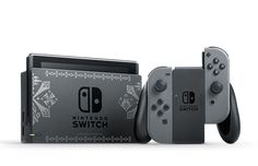 """The Nintendo Switch Receives a """"Monster Hunter XX"""" Limited Edition"""