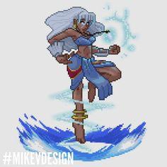 Kida - Disney Princesses as Capcom Fighters