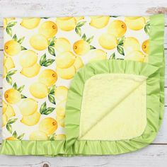 Lemon Minky Blanket – LUXE Baby Boutique