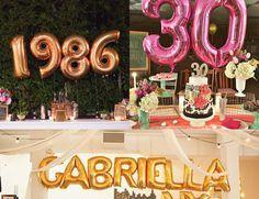 Ideias para a festa de 30 anos perfeita!