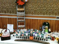 fall showcase cake pop booth | Kimberly Lloyd | Flickr