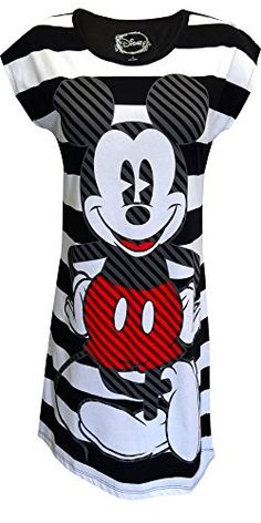 Disney's Classic Mickey Mouse Night Shirt for women (Large)   Relaxbuddy Online Shopping