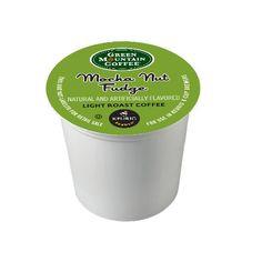 Green Mountain #Coffee Light Roast #K-Cup for #Keurig Brewers, Mocha Nut Fudge