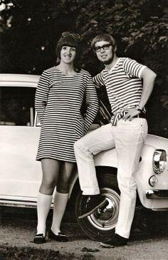 Jarkko Antikainen ja Laura Ruotsalo. Tapasimme toisemme ensimmäisen kerran vuonna 1964 Hauholla täysihoitolassa, jossa meidän molempien perheet olivat viettämässä kesää.