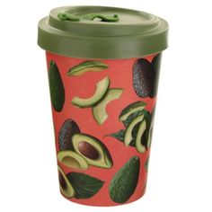 Bamboo Composite Avocado Screw Top Travel Mug If you are looking for a range that is not only great for the planet but also looks super cool, then check out our eco friendly range of picnic and kitchen accessories. Made from bamboo composite which contains a mix of 60% bamboo, 35% melamine and 5% cornstarch, this reusable range contains no BPA and no phthalate. The bamboo comes from chopstick offcuts and is sustainably grown. Height 13.5cm Width 9cm Depth 9cm (approx 5.5 x 3.5 x 3.5 inches) Eco Friendly Cups, Reusable Cup, Enchanted Home, Travel Cup, Home Gifts, Coffee Cups, Avocado, Recycling, Cool Stuff
