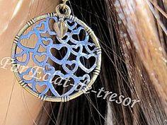 Boucles d'oreilles Romantique Coeurs