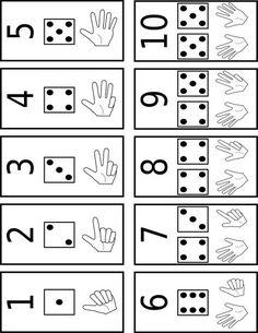 Matematica Numbers Preschool, Math Numbers, Preschool Learning, Kindergarten Worksheets, Teaching Numbers, Math Games, Preschool Activities, Material Didático, Learn To Count