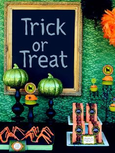 Spooky Halloween Table Settings and Decorations    Host a spooky yet elegant Halloween gathering with colorful, bold table settings and decorations. These easy Halloween ideas are sure to impress even the bravest of guests.