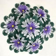 coroane plastic si coronite cu flori artificiale