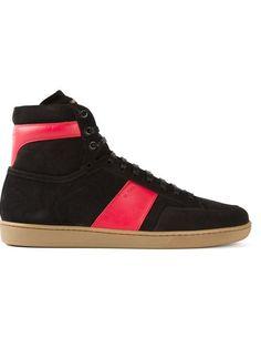 Saint Laurent, 'Court Classic' Sneakers (Red/Gum)