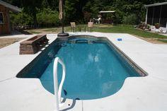 Central Pools, Inc. - Baton Rouge, Louisiana Trilogy Fiberglass Pool - Hydra