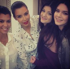 We can't help but have a major crush on the Kardashian and Jenner sisters