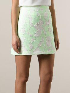 3.1 Phillip Lim - embroidered mini skirt 8