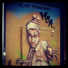 MCA of Beastie Boys. East Village.