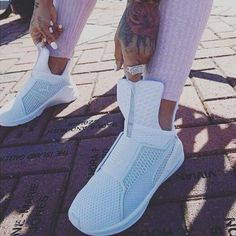 #Slay this summer with #FENTY trainers Staxxs On Deck.com   #riri #puma #shoes #cute #style #fashion #rihanna #Kyliejenner #allwhite #instago #girl #girls #takeoffpost #ff #l4l #Outfit #ootd #fitness