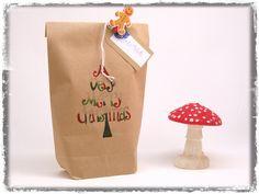 Geschenkverpackungen - Geschenktüte - A Very Merry Christmas - ein Designerstück von Nanoe bei DaWanda