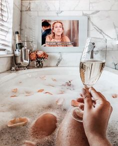 Bullet Journal Cleaning, Relaxing Bath, Anti Aging Tips, Bath Time, Self Care, Funny Quotes, Bubbles, Wine, Photo And Video
