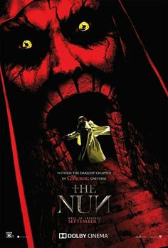 Trailers, TV spots, featurettes, images and posters for the horror film THE NUN starring Taissa Farmiga and Demian Bichir. Horror Movie Posters, New Movie Posters, New Poster, Horror Films, Cool Posters, Horror Art, Film Posters, 2018 Movies, New Movies