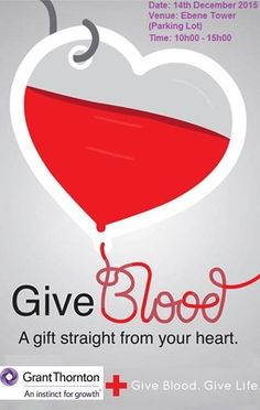 Blood Donation - see more on http://ift.tt/1Y1GqPb #events #mauritius