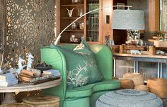 greige: interior design ideas and inspiration for the transitional home South African Design, Cozy Chair, Transitional House, Tent Camping, Home Decor Inspiration, Interior Design, Africa Travel, Mint Green, Bali