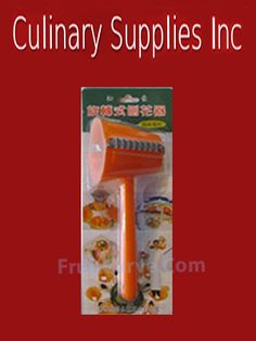 Flower Peeler: Culinary Supplies Inc specializing in Fruit Carving Knives, Garnish Tools, and other  Fruit Carving Supplies