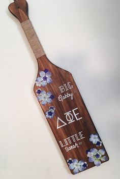 Greek Sorority Paddle DPhiE Big and Little