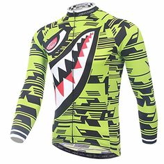 Uriah Men's Cycling Jersey Long Sleeve Shark Yellow Size ... https://www.amazon.com/dp/B01M4M8F76/ref=cm_sw_r_pi_dp_x_wJvSybCYTT8F4