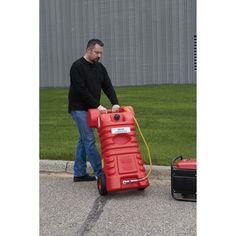 Roughneck Poly Gas Caddy — 25-Gal. Capacity
