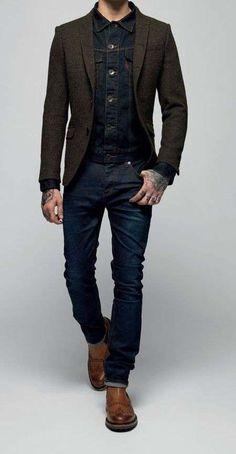 su Man style Abbigliamento immagini e Casual 107 fantastiche wear vwAZqBB