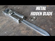 Real Metal Assassin's Creed Dual Action Hidden Blade! - YouTube