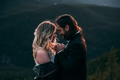 Sara is an Edmonton and beyond wedding and engagement photographer for the free-spirited lovers that are looking to document lifes most important moments. Planner Decorating, Rose Photography, Hair Makeup, Romantic, In This Moment, Couple Photos, Mountain, Weddings, Top