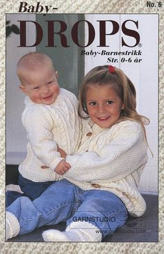 Did you know there are over 200 DROPS catalogues filled with thousands of free knitting patterns and crochet patterns for the whole family? Baby Knitting Patterns, Baby Sweater Knitting Pattern, Baby Patterns, Sewing Patterns, Crochet Patterns, Drops Design, Knitting Books, Knitting For Kids, Free Knitting