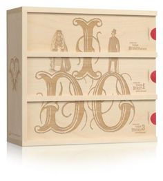 I DO - A quirky classic, this box is the perfect gift for the upstanding couple $99.00 | wineforawedding.com