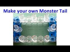 Rainbow Loom: How to make a Monster Tail out of two Rainbow Looms / loom bands - YouTube