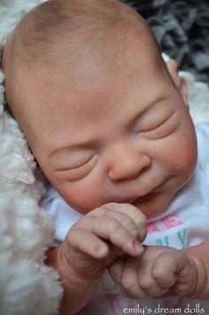 """Reborn EDLEY MARX now """"EDLEIGH"""" by Emily's Dream Dolls SPRING SALE! #EmilysDreamDolls"""