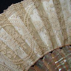 Maria Niforos - Fine Antique Lace, Linens & Textiles : Antique Fans