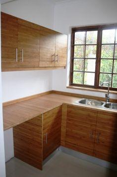 BAMBOO BOARDS, COUNTER TOPS, CUPBOARDS | DesignMind Decor, Corner Desk, Bamboo, Bamboo Board, Furniture, Countertops, Counter, Home Decor, Cupboard