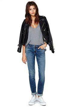 Lee 3 Year Fade Skinny Jean