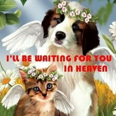 I'll be waiting for you in Heaven.