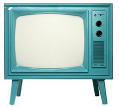 RECYCLE AND REUSE OLD TV. JUST PAINT IT WITH A BRIGHT MODERN COLOUR, AND USE IT LIKE A SIDE TABLE. GET MORE IDEAS FOR RECYCLING AT http://styleitchic.blogspot.com