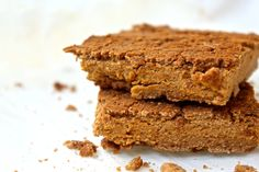 3 Ingredient Peanut Butter Blondies | Healthy Helper @Healthy_Helper