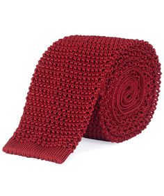 Red Knitted Silk Tie, Nick Bronson. Shop more silk ties from the Nick Bronson collection online at Liberty.co.uk