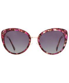 782a697592d88 Women s Sunglasses, Cat Eye, Oversized Sunglassses Polarized Butterfly  P2169C - Multicolor Red Frame