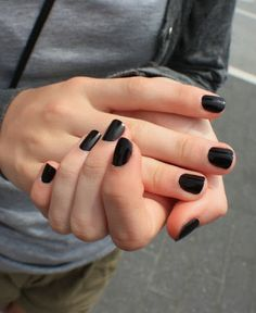 Do or Don't: Black Nail Polish | A Cup of Jo