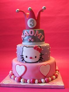 Hello Kitty Cake, just put a 2 in front of that 3 and it can totally work for my 23rd birthday!