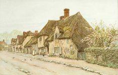 victorian english painters | Helen Allingham (1848-1926)