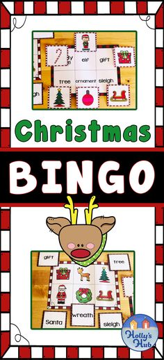 This Christmas holiday themed bingo set can be played in partners, groups and is ideal for some festive fun during the holiday season. Great for centers too!