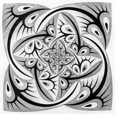 Maurits Cornelis Escher -   Path of Life II